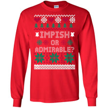 Load image into Gallery viewer, Impish Or Admirable Christmas Sweater