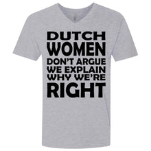 Load image into Gallery viewer, Dutch Woman Don't Argue We Explain Why We're Right