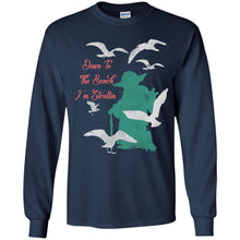Load image into Gallery viewer, Seagulls - Down To The Beach I'm Strollin' Shirt