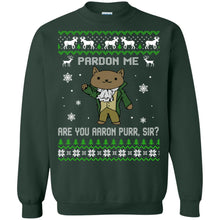 Load image into Gallery viewer, Pardon Me - Are You Aaron Purr Christmas Sweater