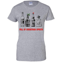 Load image into Gallery viewer, Vodka - Whiskey - Jolly Juice - Full Of Christmas Spirits Shirt
