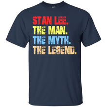 Load image into Gallery viewer, Stan Lee - The Man - The Myth - The Legend Shirt