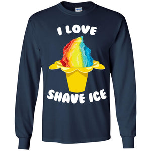 I Love Shave Ice Shirt