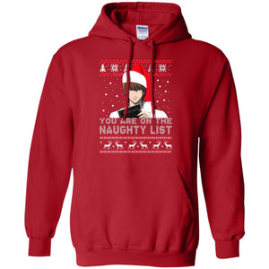 Death Note - You Are On The Naughty List Ugly Christmas Sweater