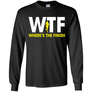 W-T-F - Where's The Finish Shirt
