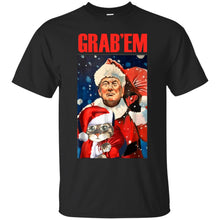 Load image into Gallery viewer, Donald Trump - Grab'em Chirtsmas Shirt