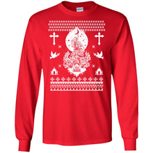 Load image into Gallery viewer, Burning Church Christmas Sweater