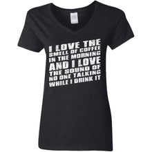 Load image into Gallery viewer, I Love The Smell Of Coffee In The Morning Shirt