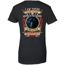 Load image into Gallery viewer, Wolf - I Am There Waiting, Watching Keeping To The Shadows Shirt