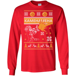 Dragonball Songoku Kamahameha Christmas Sweater
