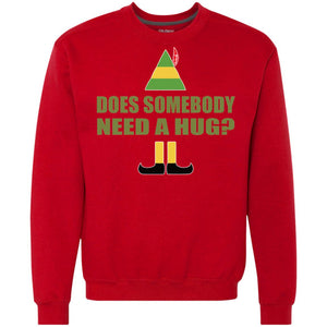 Buddy The Elf - Does Somebody Need A Hug Shirt
