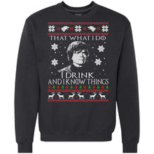 Load image into Gallery viewer, Game Of Thrones - I Drink And I Know Things Christmas Sweater