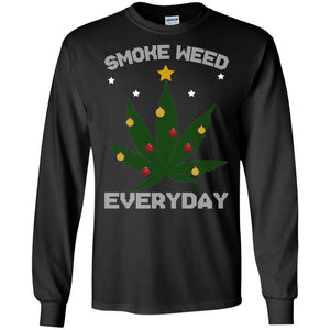 Smoke Weed Everyday Christmas Sweatshirt