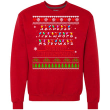 Load image into Gallery viewer, Stranger Things - Merry Christmas Sweater