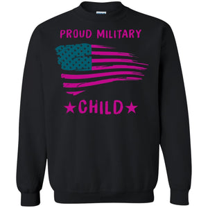 Proud Military Child Shirt