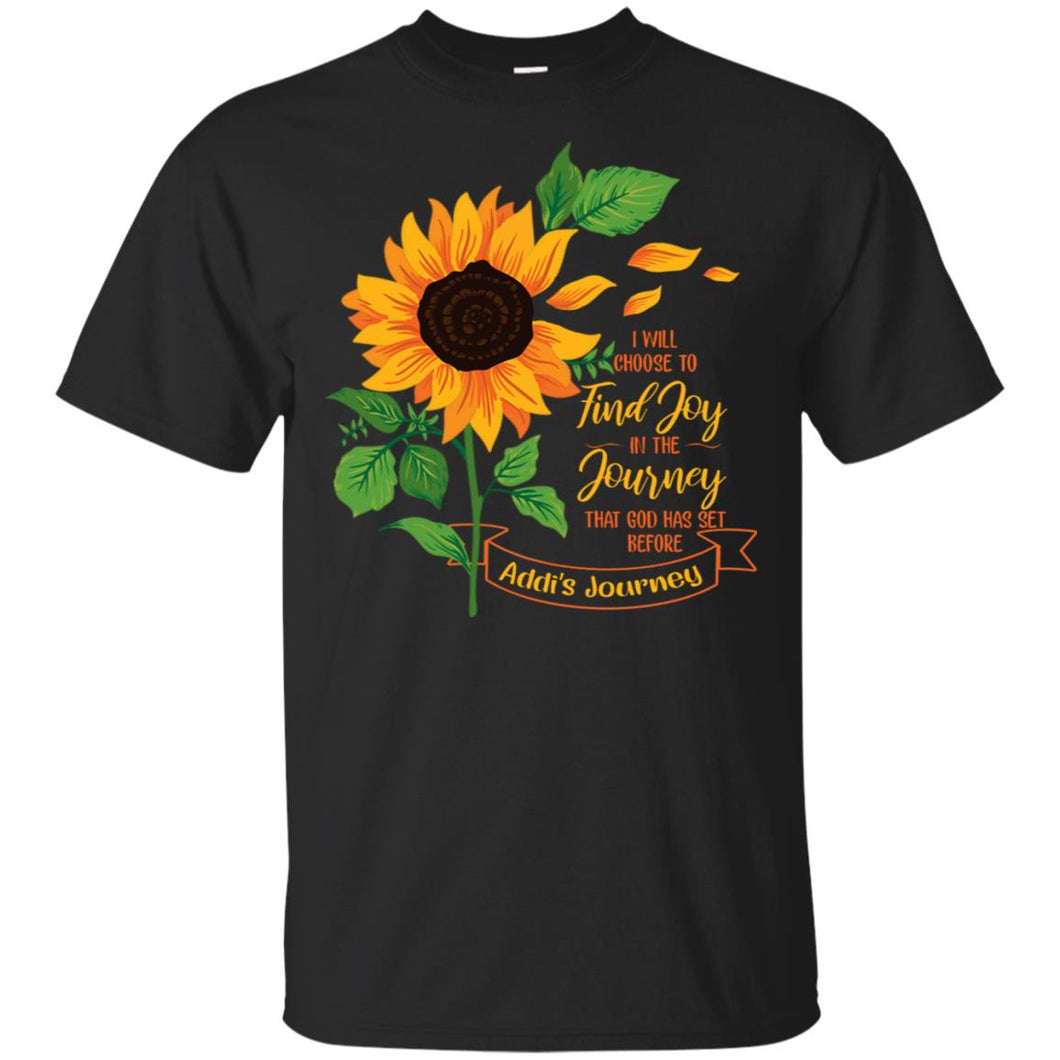 Sunflower - I Will Choose To Find Joy In The Journey Shirt