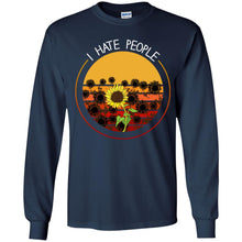 Load image into Gallery viewer, Sunflower - I Hate People Shirt