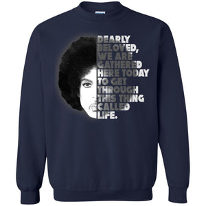 Prince - Dearly Beloved We Are Cathered Here Today Shirt