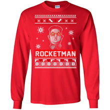 Load image into Gallery viewer, Kim Jong Un Rocketman Christmas Sweater