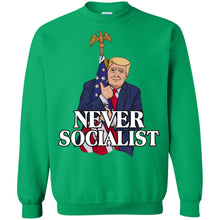Load image into Gallery viewer, Trump Never Socialist Shirt