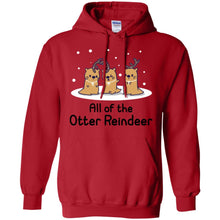 Load image into Gallery viewer, All Of The Otter Reindeer Shirt