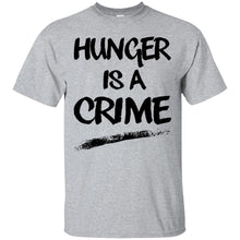 Load image into Gallery viewer, Hunger Is A Crime Shirt