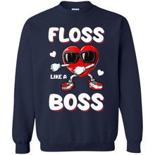 Load image into Gallery viewer, Valentine Heart - Floss Like A Boss Shirt