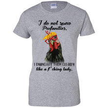 Load image into Gallery viewer, Chicken - I Do Not Spew Profanities Shirt