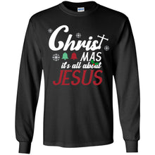 Load image into Gallery viewer, Christmas It's All About Jesus Shirt