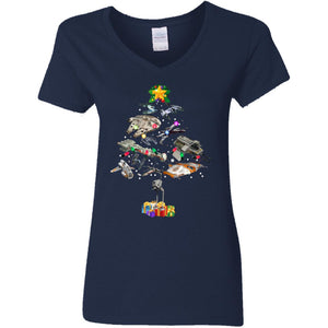 Star Wars Christmas Tree Shirt