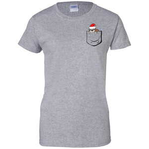 Sloth Christmas Pocket Shirt