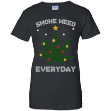 Load image into Gallery viewer, Smoke Weed Everyday Christmas Sweatshirt