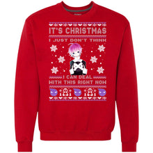 Load image into Gallery viewer, Soul Eater - Crona - I Just Don't Think I Can Deal With This Right Now Christmas Sweater