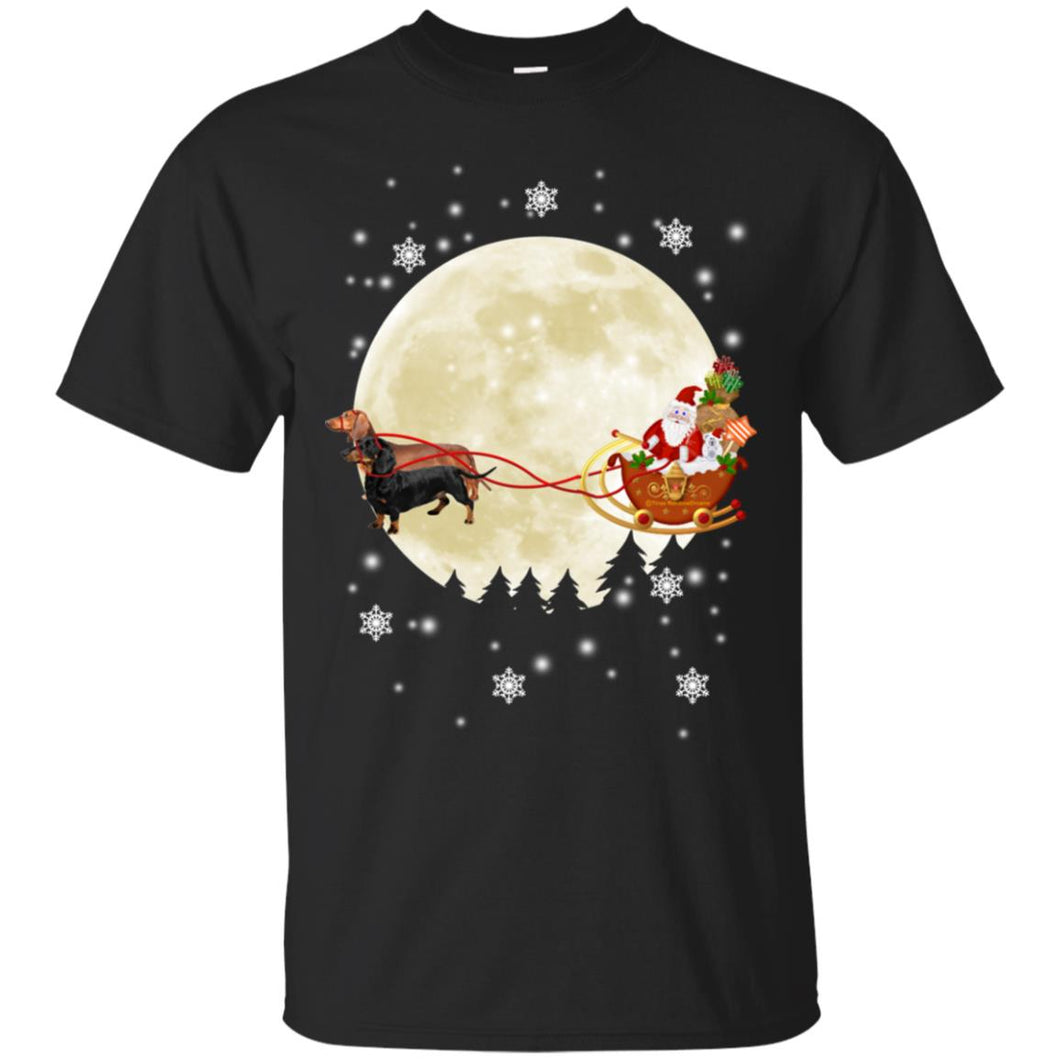 Dachshund Dog Christmas Shirt