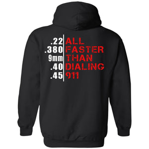 All Faster Than Dialing 911 Shirt
