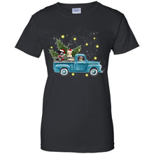 Load image into Gallery viewer, Dogs Driving Christmas Car Shirt