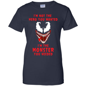 Venom - I'm Not The Hero You Wanted Shirt