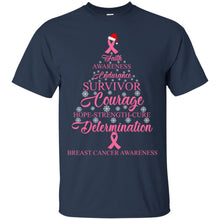 Load image into Gallery viewer, Faith Awareness Endurance Survivor Courage Shirt