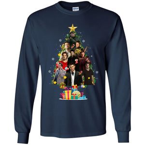 Supernatural Christmas Tree Shirt