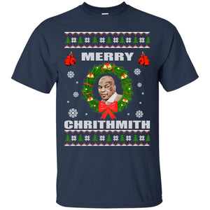 Mike Tyson - Merry Chrithmith Ugly Christmas Sweater