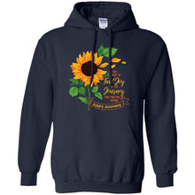 Load image into Gallery viewer, Sunflower - I Will Choose To Find Joy In The Journey Shirt