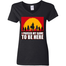 Load image into Gallery viewer, I Paused My Game To Be Here Shirt