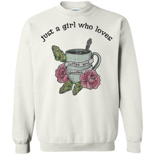 Load image into Gallery viewer, Just A Girl Who Loves Coffee And Cannabis Shirt