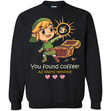 Load image into Gallery viewer, You Found Coffee All Gearts Restored Shirt
