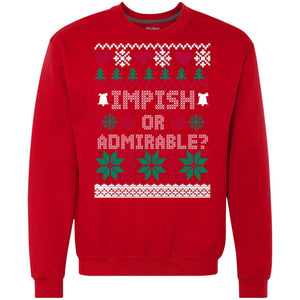 Impish Or Admirable Christmas Sweater
