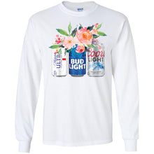 Load image into Gallery viewer, Michelob Ultra Bug Light And Coors Light Shirt