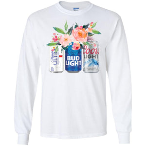 Michelob Ultra Bug Light And Coors Light Shirt