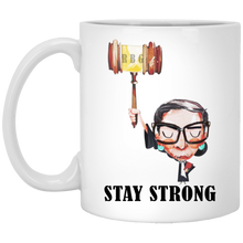Load image into Gallery viewer, Bader Ginsburg - Stay Strong Mugs