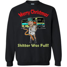 Load image into Gallery viewer, Merry Christmas - Shitter Was Full Shirt