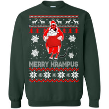 Load image into Gallery viewer, Merry Krampus Christmas Sweater